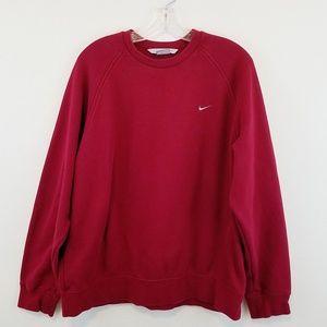 Nike Red Large Sweatshirt Crewneck #W237